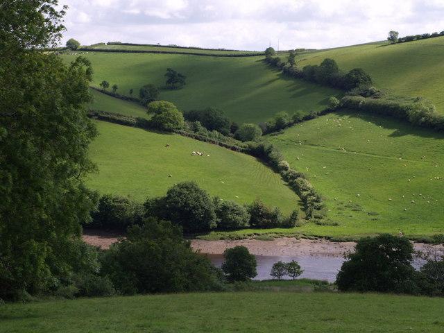 River Dart from Sharpham Drive