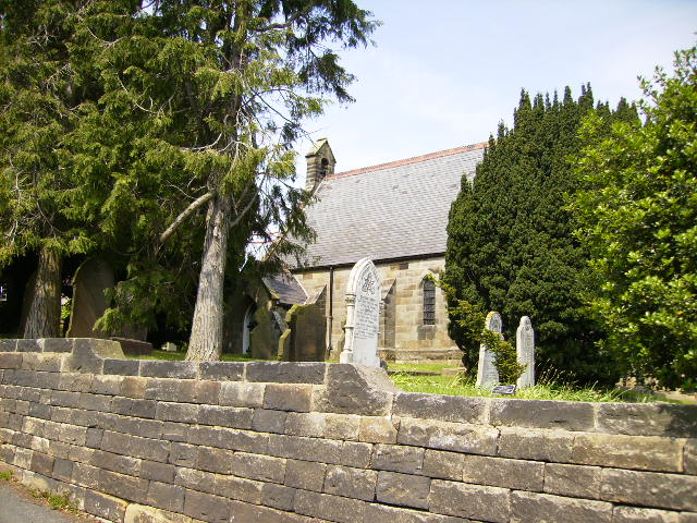 Church and Graveyard in Faceby