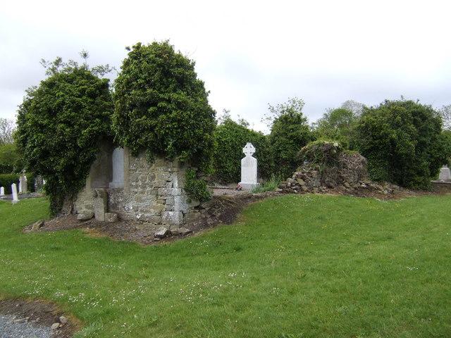 Ruined church at Knockcommon, Co. Meath