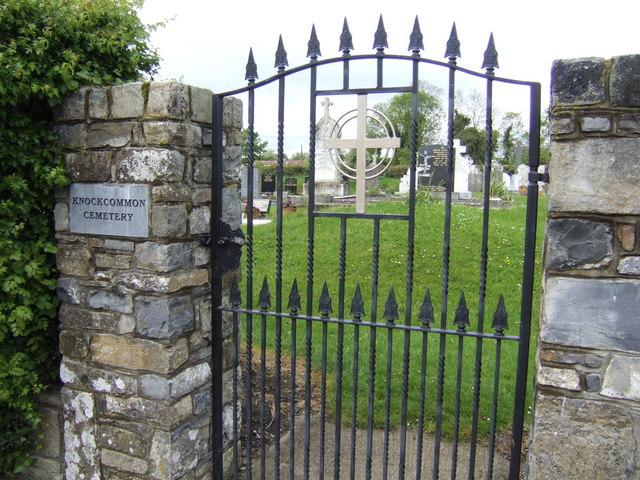 Cemetery gate, Knockcommon