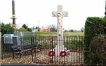 TF4382 : War Memorial at Withern by John Readman