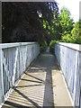 NT9304 : Footbridge, Harbottle by Andy Gryce