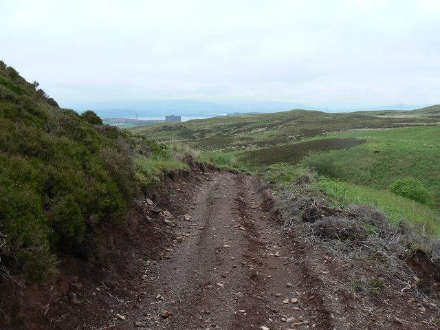 Rough Track to Greenock Cut