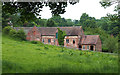 SO6799 : Old Buildings, Willey, Shropshire by Roger  Kidd