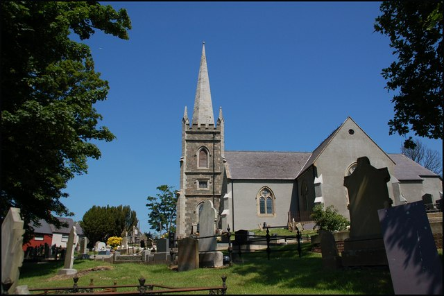 The parish church, Killyleagh