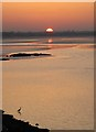 O2229 : Sunset over Dublin Bay by Doug Lee
