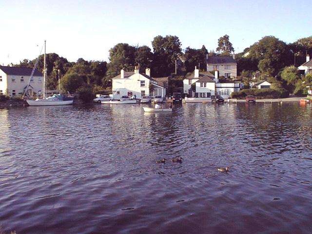 Mylor Quay - at spring tide