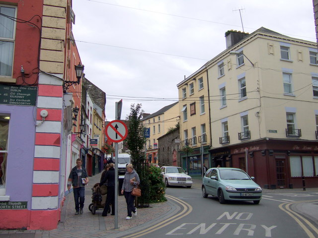 Junction of North Street/Straid Thuaidh  and South Street/Straid Theas