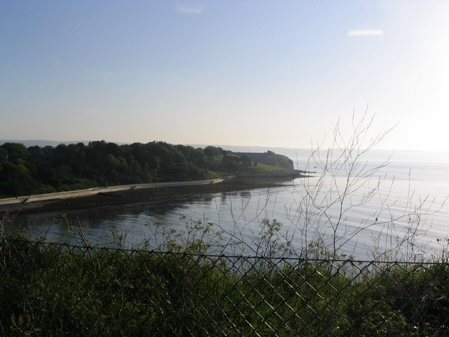 Newton's Cove towards Nothe Fort