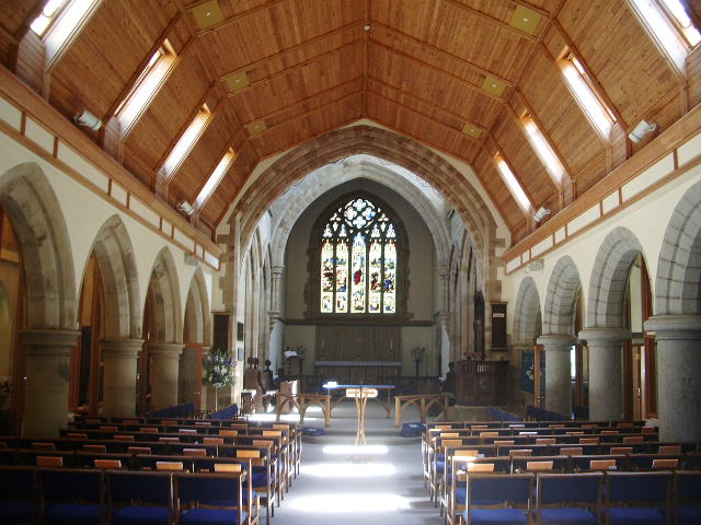 Interior of The Parish Church of St Mary's, Windermere