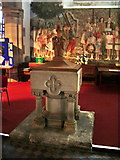 NY3704 : Font of The Parish Church of St Mary's, Ambleside by Alexander P Kapp