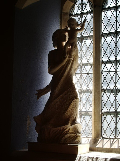 Statue  in The Parish Church of St Mary's, Ambleside