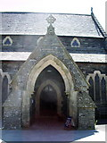 NY3704 : Porch, The Parish Church of St Mary's, Ambleside by Alexander P Kapp