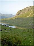 SH6459 : Llyn Idwal in reflective mood by Ian Greig