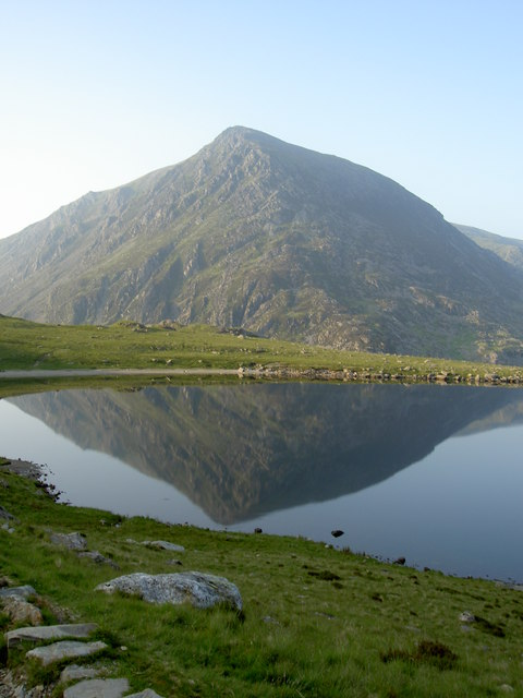 Llyn Idwal with Pen yr Ole Wen stealing the limelight