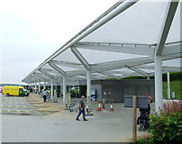 TL5523 : Stansted Airport Coach Station by Thomas Nugent