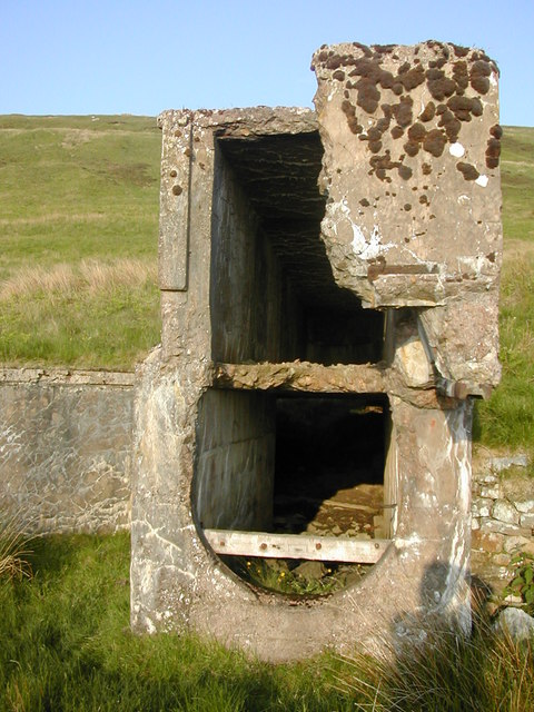 Derelict Mine Buildings at Gairs