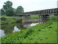 SJ3215 : Bridge over the Severn by Penny Mayes