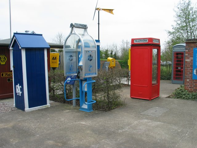 Avoncroft Museum - collection of payphones
