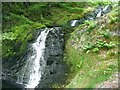SN7543 : Waterfalls on Nant Rhaeadr by Nigel Davies