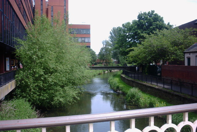 The River Sow, Stafford