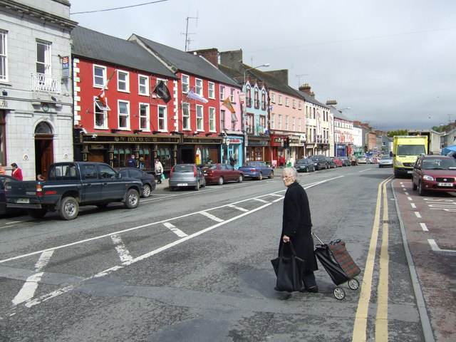 Town centre, Carrickmacross, Co. Monaghan