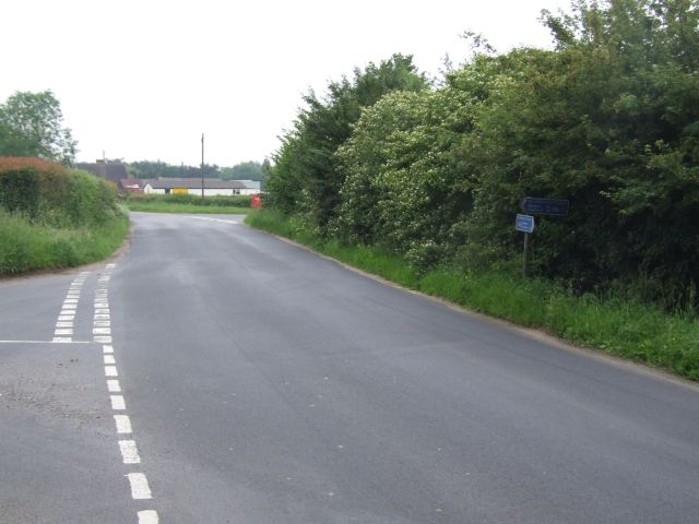 Junction and National Cycleway Signpost