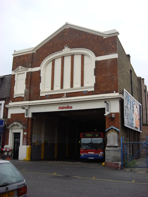 Willesden Bus Garage Entrance