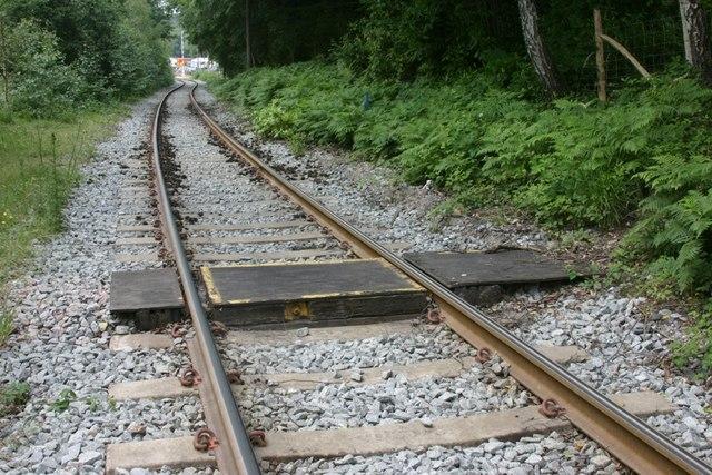 Footpath Crossing Railway