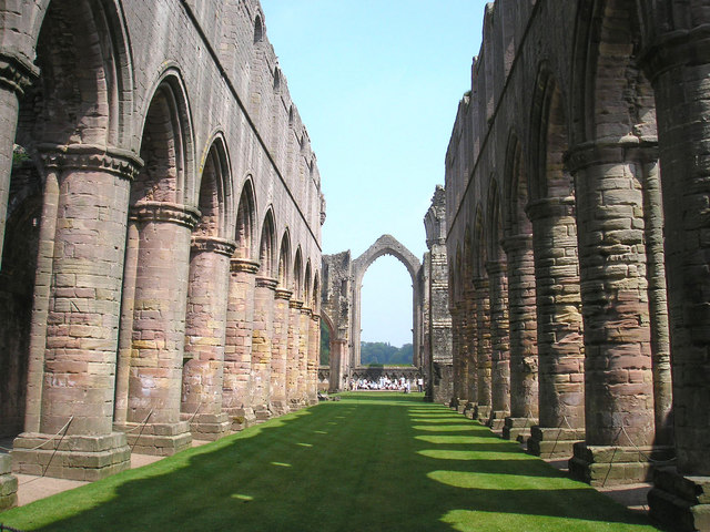 Fountains Abbey Nave