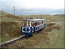 SH7683 : The Great Orme Tramway by Trevor Rickard