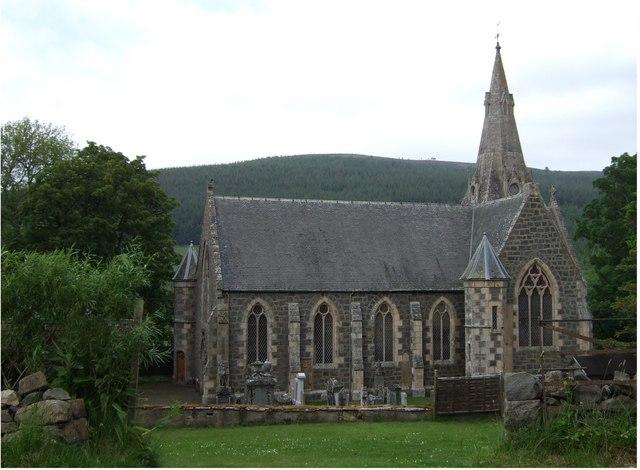 New Church of Invernochty, Upper Donside