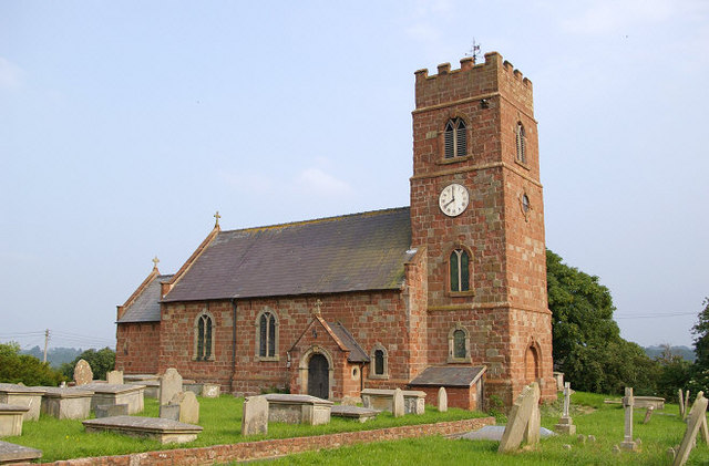 St Chad's parish church, Montford