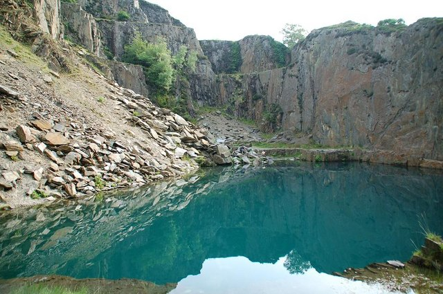Blue Lake near Friog