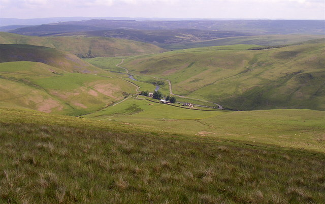 The southern flank of Inner Hill