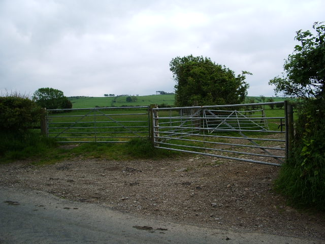 Gates on the Bothel to Torpenhow road