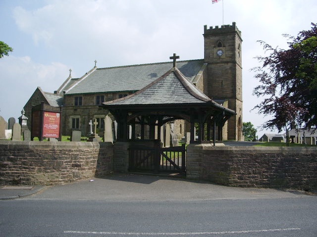 Lych Gate, The Parish Church of St Lawrence with St Paul, Longridge