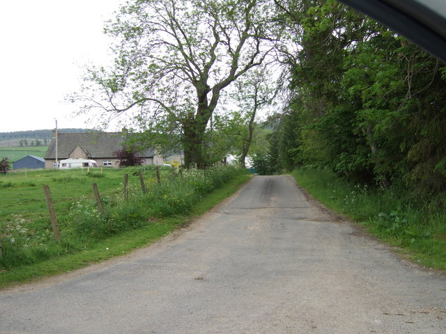 Road to Meikle Tolly by Stanley Howe