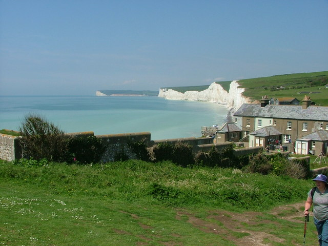 Birling Gap and the Seven Sisters Beyond