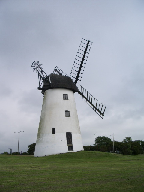 The Allen Clarke Memorial Windmill, Blackpool