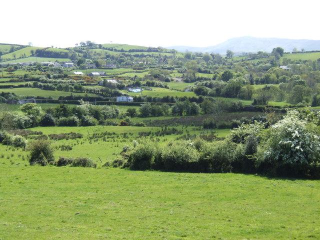 Countryside west of Ballynahinch