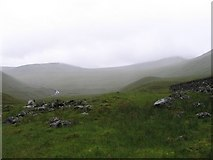 NN3642 : Gleann Cailliche on a wet day by Andrew Spenceley
