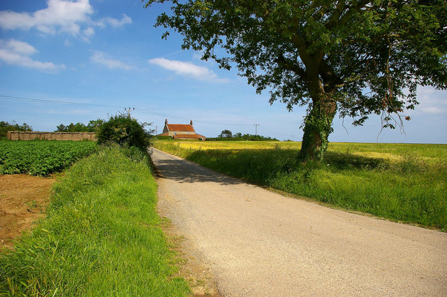 Rural Scene off the A149 Bypass