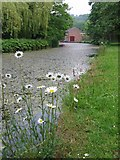 SK3155 : Cromford Canal and Wharf Shed by Nikki Mahadevan