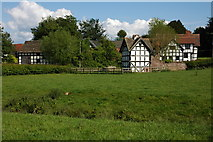 SO3955 : Luntley Court and Dovecote by Philip Halling