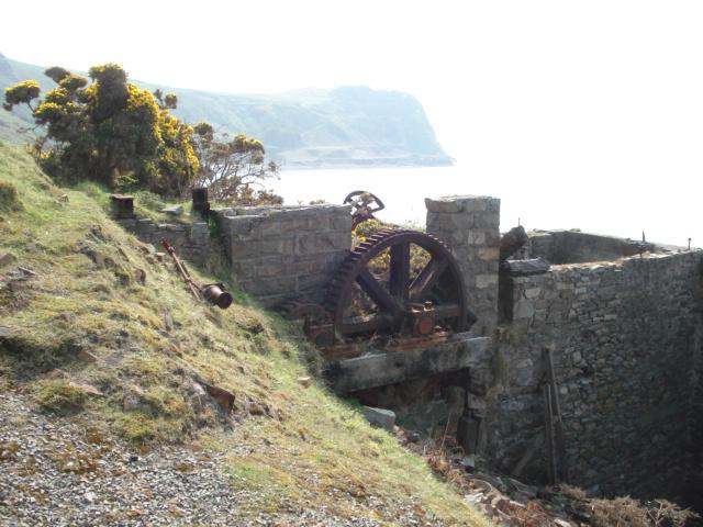 Winding Gear At Porth Y Nant 169 Trevor Rickard Geograph