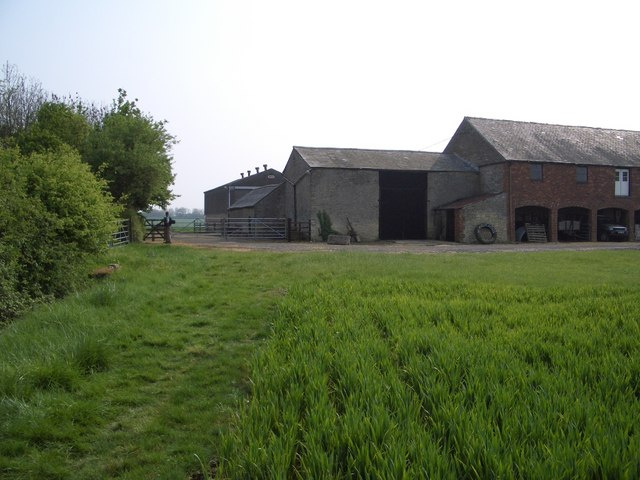 Footpath Beside White House Farm, Bozeat
