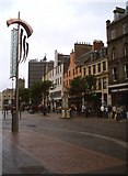 NO4030 : Dundee city centre, at the top of Castle Street. by Gwen and James Anderson