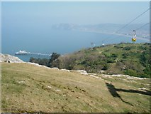 SH7783 : View over Llandudno Bay from the Great Orme by Trevor Rickard