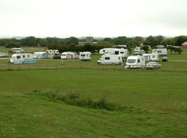 North Cliff Country Park caravan site